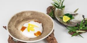 Imagen de Citrus AOVE, postre de Ingrid Serra ganador del Premio de Cocina con Aceite de Oliva