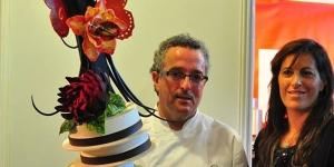 Imagen de Limón y romero maridados con chocolate por Andrés Mármol en Murcia Gastronómica