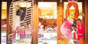 Imagen de Horno San Onofre celebra la Almudena con escaparates artísticos