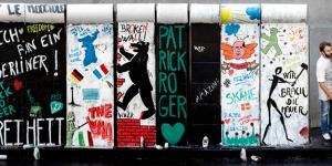 Imagen de Patrick Roger celebra los 30 años de la caída del muro de Berlín