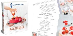 """Imagen de 100 recetas de Le Cordon Bleu en el libro """"La Escuela de Pastelería"""""""