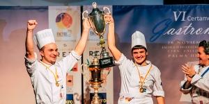 Imagen de Víctor de Castro, campeón de pastelería en el Certamen Nacional de Gastronomía