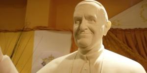 Imagen de La imagen más dulce del Papa, en Rute