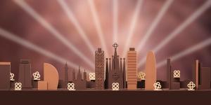 Imagen de Un skyline de Barcelona en chocolate, la felicitación navideña de Enric Rovira