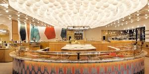 Imagen de 86Champs, el espacio gourmet conjunto de Pierre Hermé y L'Occitane