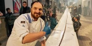 Imagen de La neula de chocolate más larga del mundo, el último reto de Rodellas