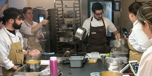 Imagen de Los chefs de elBarri convencen en L'Atelier Barcelona