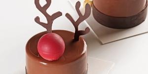 Imagen de Pastel Rudolph Cake de fresa, chocolate y vainilla de Ester Roelas