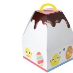 Cajas de cartón reciclado para Pascua