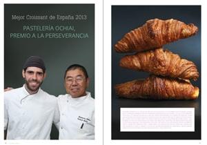 Mejor croissant de españa 2013. Premio a la perseverancia