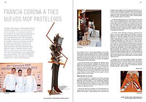 Francia corona a tres nuevos Mof pasteleros.