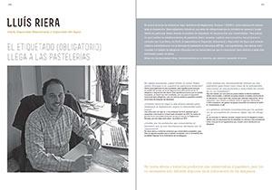 Entrevista a Lluís Riera. El etiquetado (obligatorio) llega a las pastelerías