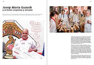 Concurso Anís del Mono. Mejor Especialidad Pastelera 2015. Josep Maria Guasch y el éclair crujiente y anisado