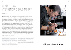 Master de Chocolate. Bean to bar. ¿Tendencia o sólo moda?