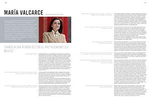 """María Valcarce. """"Vamos a dar a cada sector el protagonismo que merece"""""""