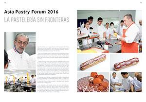 Asia Pastry Forum. La pastelería sin fronteras