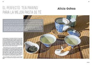 Alicia Ochoa. El perfecto tea pairing para la Mejor Pasta de Té