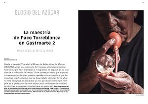 La maestría de Paco Torreblanca en Gastroarte 2. Elogio del azúcar