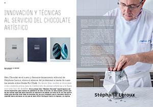 Innovación y técnicas al servicio del chocolate artístico