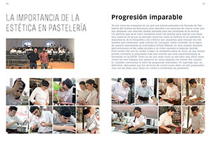 Progresión imparable. La importancia de la estética en pastelería