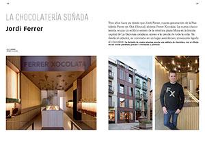 Jordi Ferrer. La chocolatería soñada