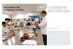 Encuentro del Colectivo 21ºBrix. La cooperativa pastelera de ideas