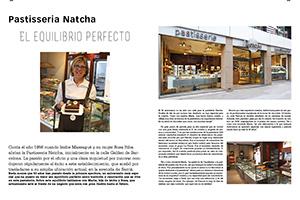 Pastisseria Natcha. El equilibrio perfecto