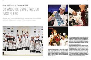 Copa del Mundo de Pastelería. 30 años de espectáculo pastelero