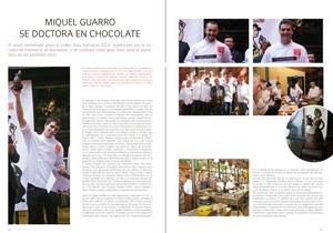 Santapau '13. Miquel Guarro se doctora en chocolate
