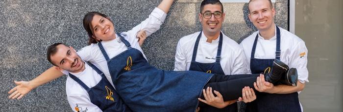 Bee chef Pastry School, el desembarco formativo de Hans Ovando y Elena Adell