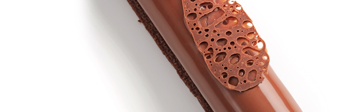 Bubble chocolate y nuevas técnicas en pastelería por Stéphanie Vastel